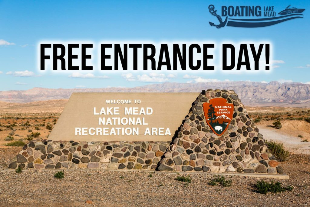 Lake Mead National Park. free admission