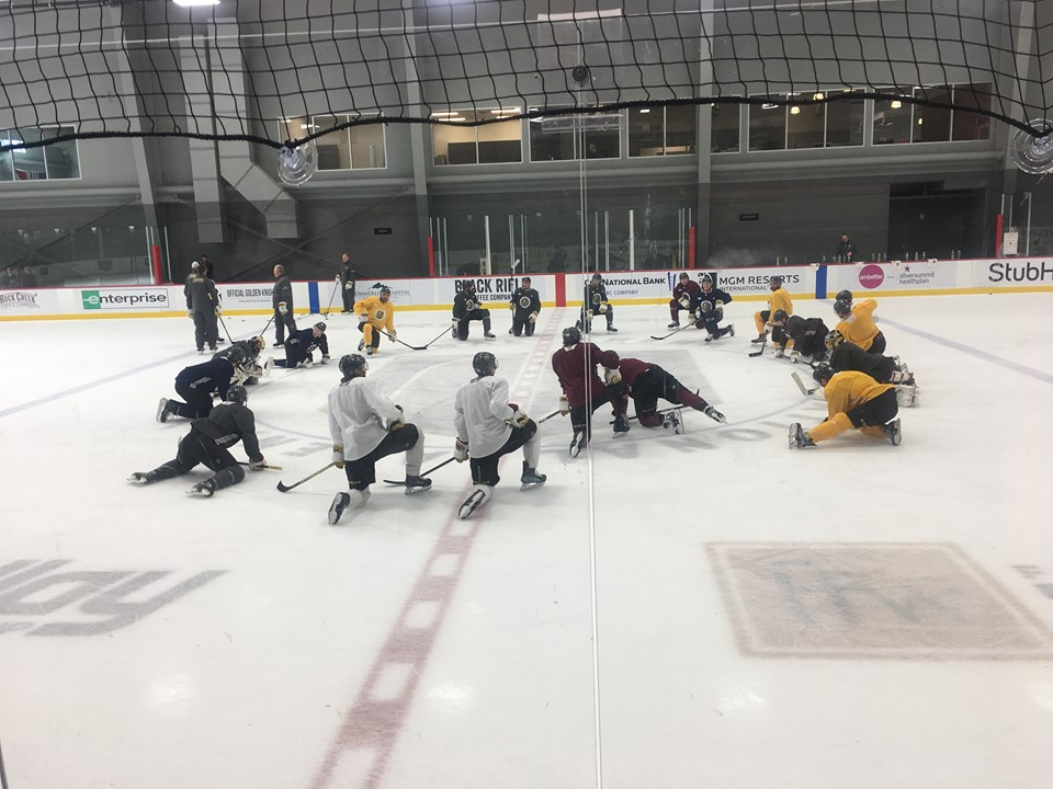 Vegas Golden Knights at City National Arena