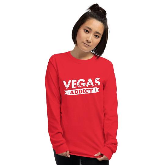 Vegas addict t shirt